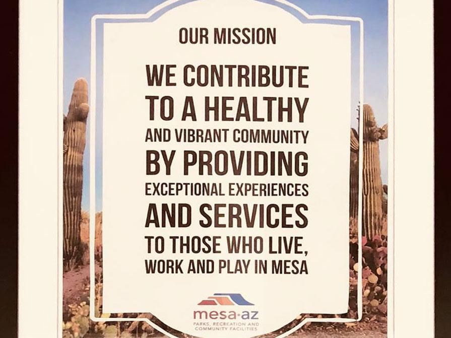 Eagles Community Center Mission